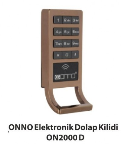 Elektronik Dolap Kilidi ON2000D